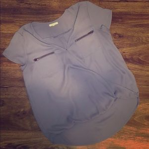 💙EUC Maurice's Perfect Wrap Front Blouse💙